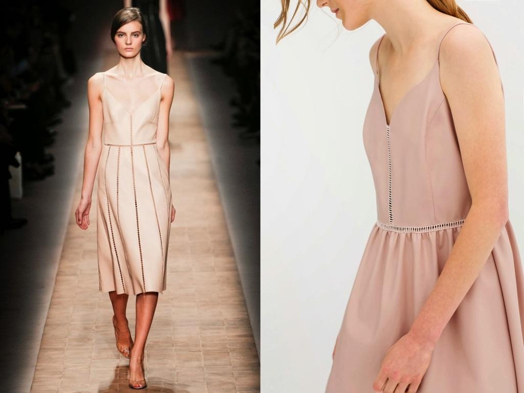 INSPIRATION Valentino SS--2013... Zara SS--2014
