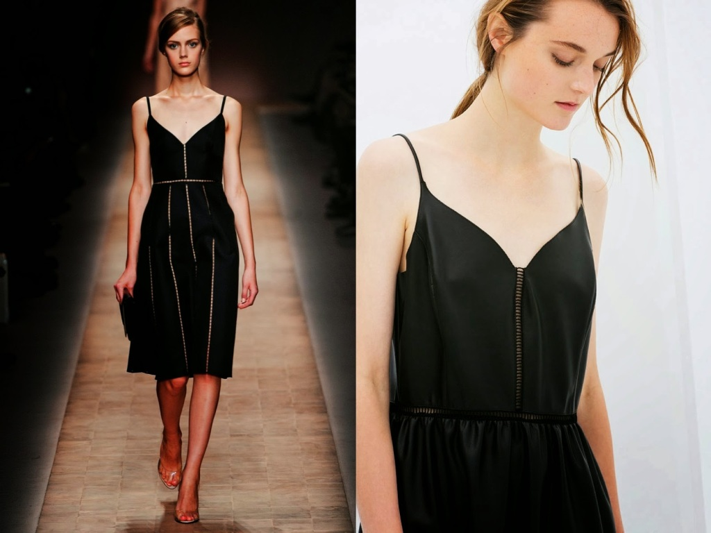 INSPIRATION Valentino SS--2013... Zara SS--20141