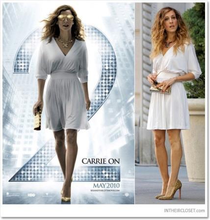 sarah-jessica-parker-halston-heritage-white-cocktail-dress