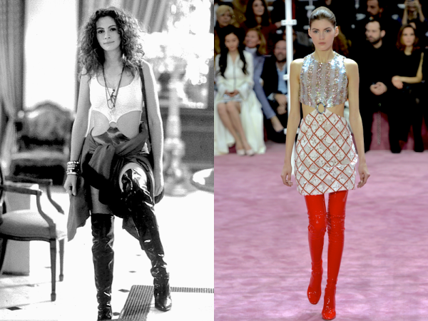 "'Pretty Woman"" 1990 and Christian Dior HC SS